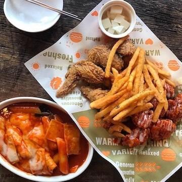 OPPADAK 歐巴答韓式炸雞。