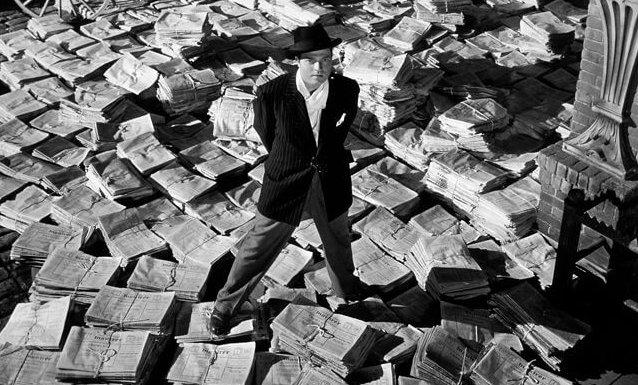 影史經典《大國民》由奧森威爾斯執導並出演。