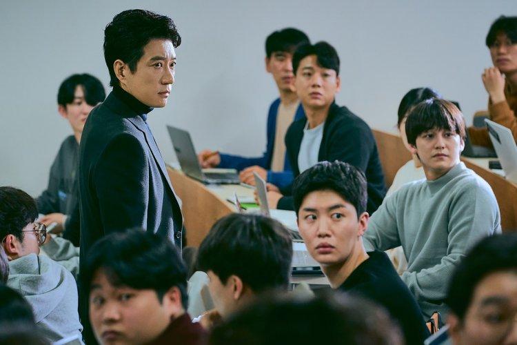 韓劇《Law School》劇照。