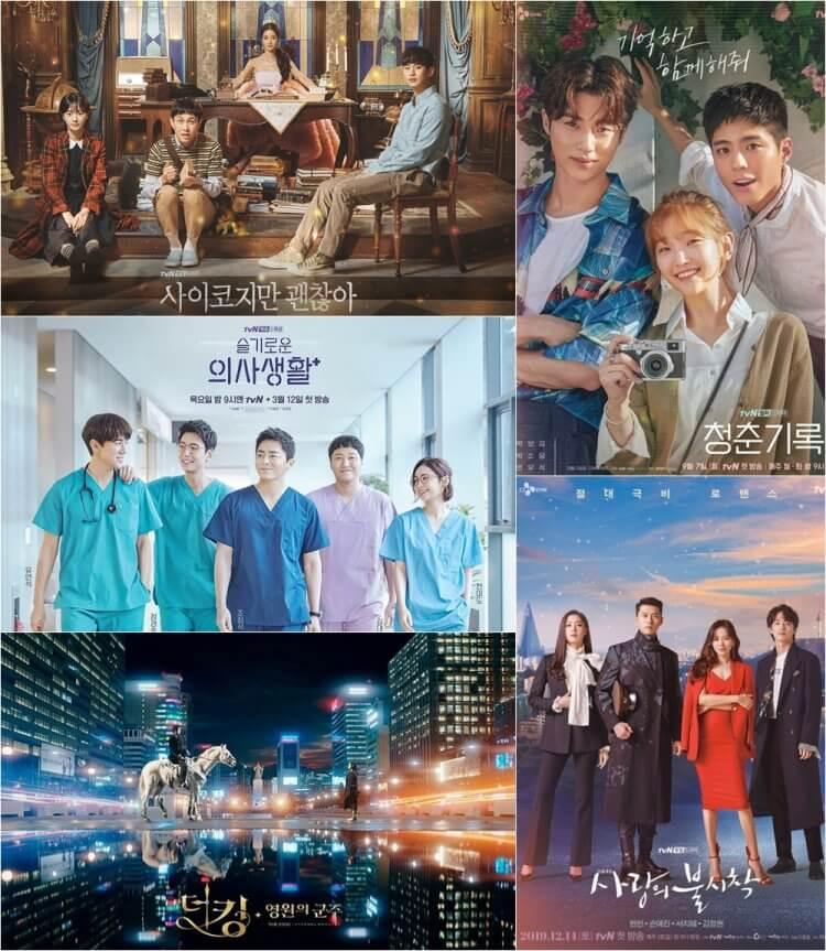 《機智醫生生活》、《青春紀錄》、《雖然是精神病但沒關係》等劇備受台灣觀眾歡迎