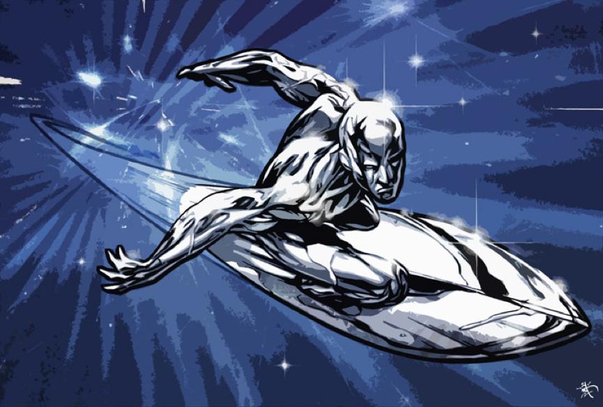 銀色衝浪手 漫威 超級英雄 無限之戰