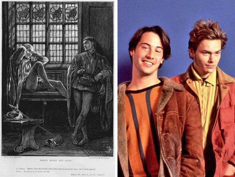莎士比亞《亨利四世》及葛斯范桑《男人的一半還是男人》。