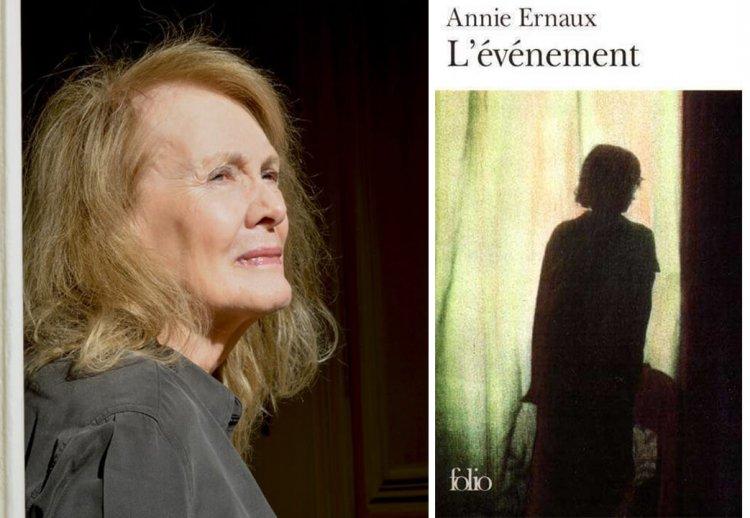 安妮艾諾及《記憶無非徹底看透的一切》法國書封。