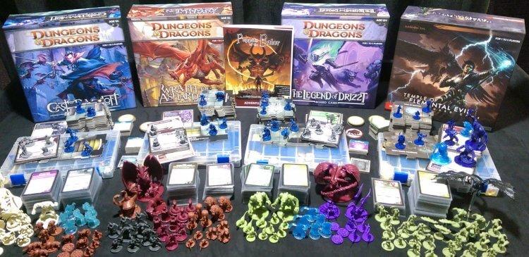 《龍與地下城》桌遊。
