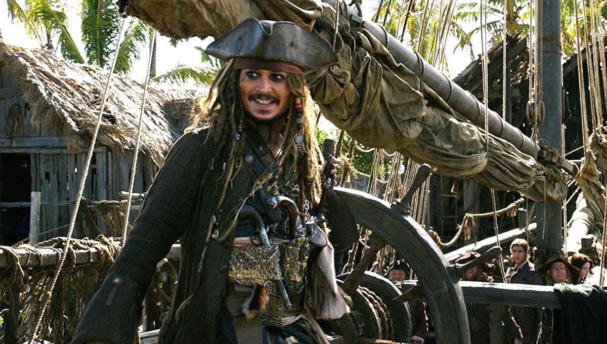 強尼戴普在《神鬼奇航》系列演出傑克船長令人印象深刻。