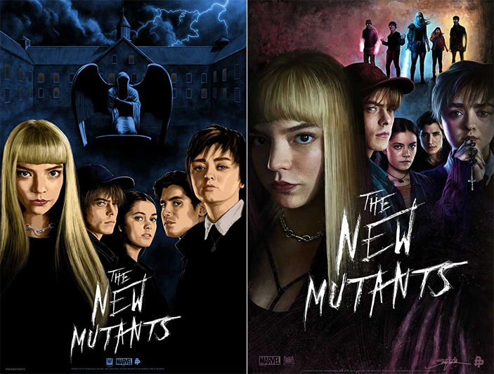 《變種人》全新海報。