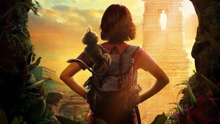 寓教於樂的動畫節目《愛探險的 Dora》真人版電影《朵拉與失落的黃金城(暫)》海報公開!