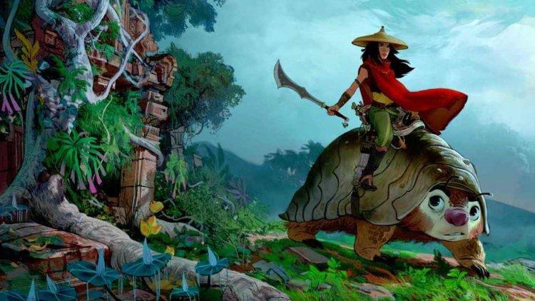 小龍女奧卡菲娜!迪士尼動畫電影新片《尋龍使者:拉雅》D23 公開,靈感來自東南亞首圖