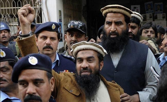 2008 年孟買連環恐怖攻擊的主謀者,網路新聞照片。