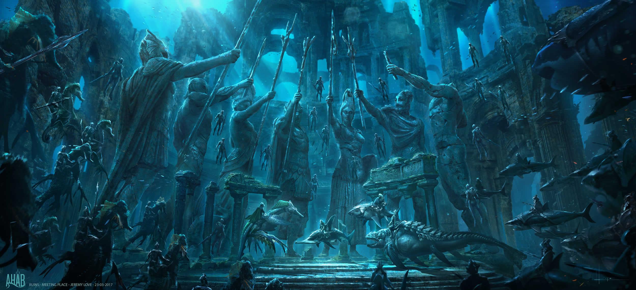 《水行俠》故事中的亞特蘭提斯王國,據傳有可能就在百慕達三角區域。