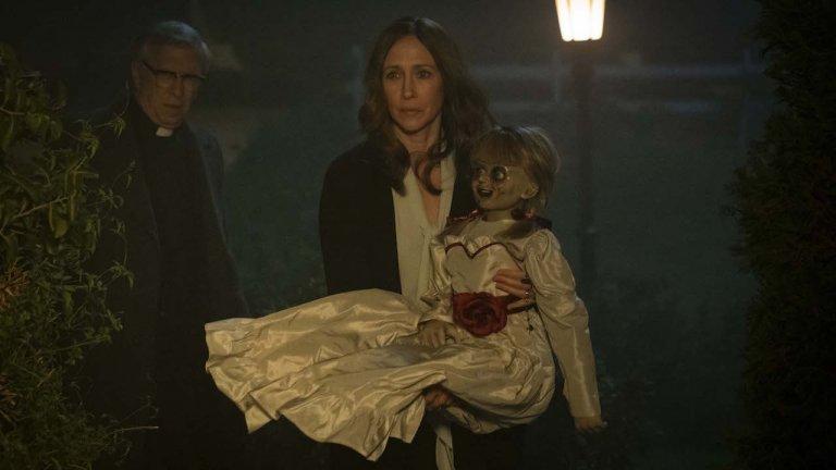 《安娜貝爾回家囉》四度飾演華倫夫婦,溫子仁「關鍵一句話」說動派翠克威爾森與薇拉法蜜嘉
