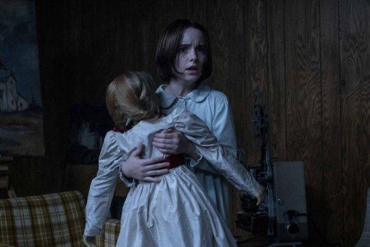 厲陰宅宇宙最新電影《安娜貝爾回家囉》(Annabelle Comes Home) 劇照。
