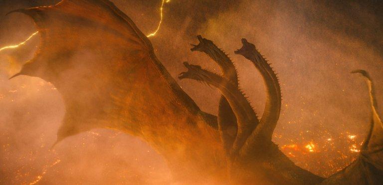 《哥吉拉 II:怪獸之王》(Godzilla: King of the Monsters) 王者基多拉。