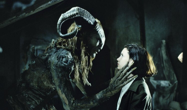 《羊男的迷宮》電影劇照。