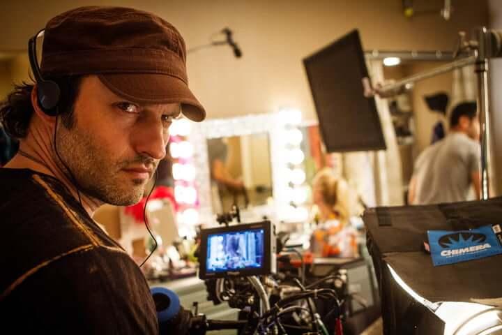 《艾莉塔:戰鬥天使》導演羅勃羅德里茲 (Robert Rodriguez)。