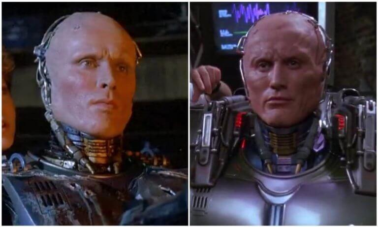 《機器戰警》的前兩任演員:彼得威勒、羅伯特約翰伯克。
