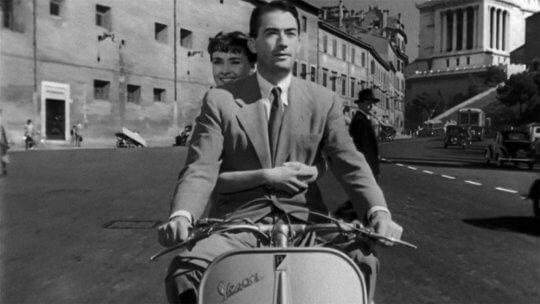 《羅馬假期》劇照。