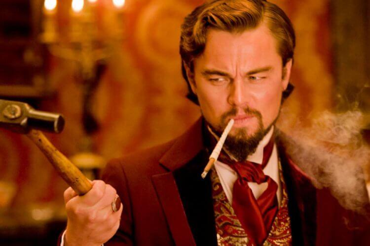 李奧納多狄卡皮歐的《決殺令》是他第一次與導演昆汀塔倫提諾合作,當中李奧納多飾演一個白人壞富豪。