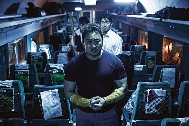 《 屍速列車 》 電影劇照 。