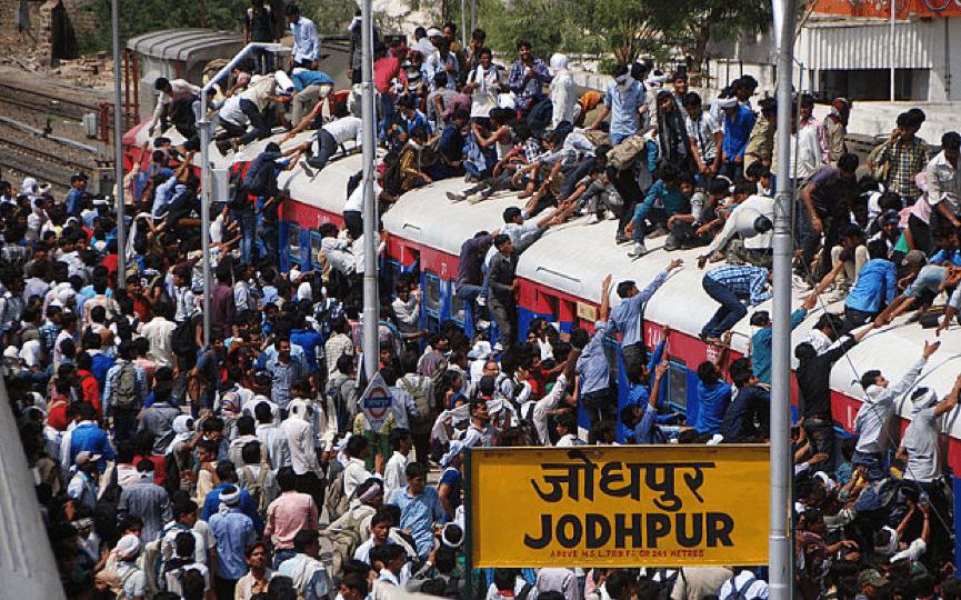 電影 中, 薩諾斯 的心情,看看印度這將成為世界人口最多的國家或許多少能了解。
