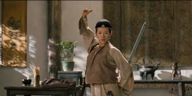 囊括奧斯卡四項大獎肯定,將東方武俠美學帶往西方影壇的李安導演 2000 年作品《臥虎藏龍》。