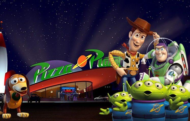 《 玩具總動員 》中的比薩星球(Pizza Planet)餐廳將降落在真實世界