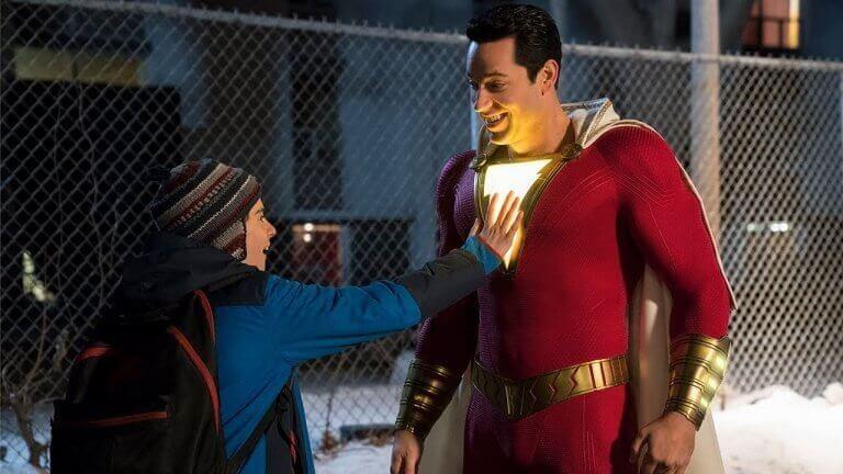 將於 4/3 起在台上映的 DC 超級英雄電影《沙贊!》。