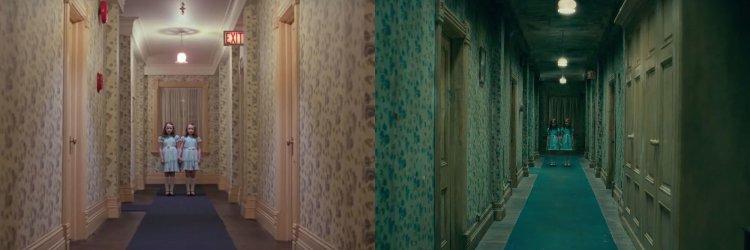 《安眠醫生》中有不少致敬《鬼店》的畫面。