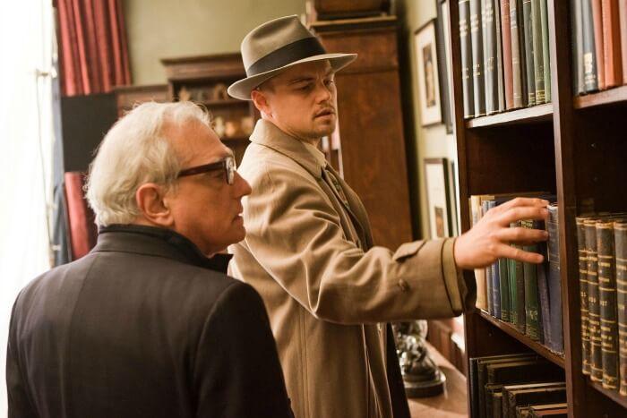 《隔離島》導演馬丁史柯西斯及主演李奧納多狄卡皮歐。