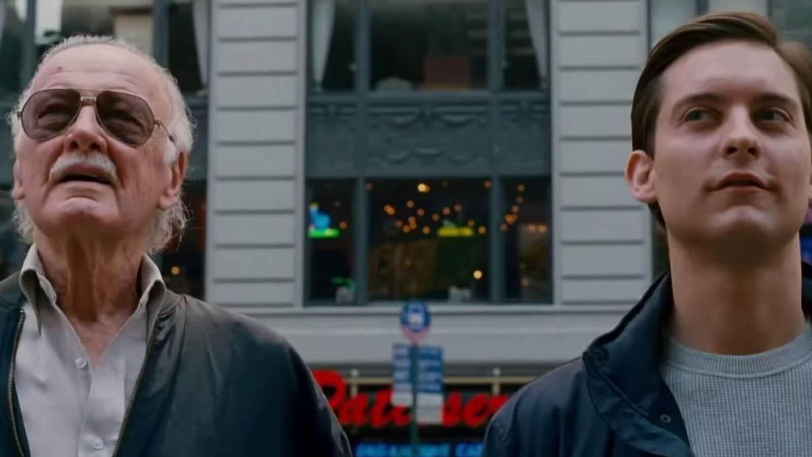 史丹李 (Stan Lee) 曾在《蜘蛛人 3》中客串西裝路人。