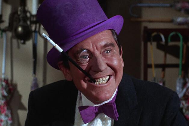 1966年《蝙蝠俠》電影中的企鵝人。