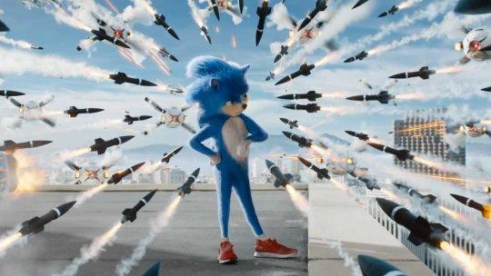 先前《音速小子》(Sonic the Hedgehog) 比例怪異