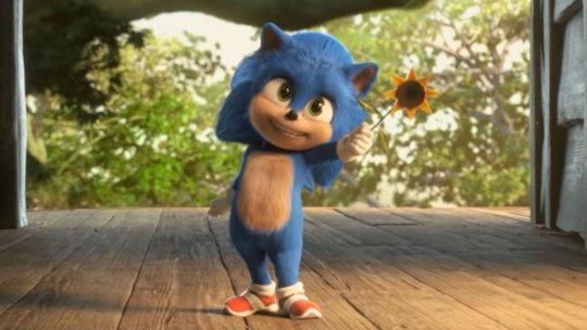 《音速小子》(Sonic the Hedgehog) 現身的「音速寶寶」