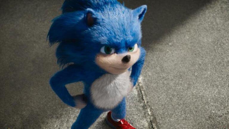 電玩改編的真人版電影《音速小子》預告片段中的索尼克造型,可惜的是粉絲並不買單。