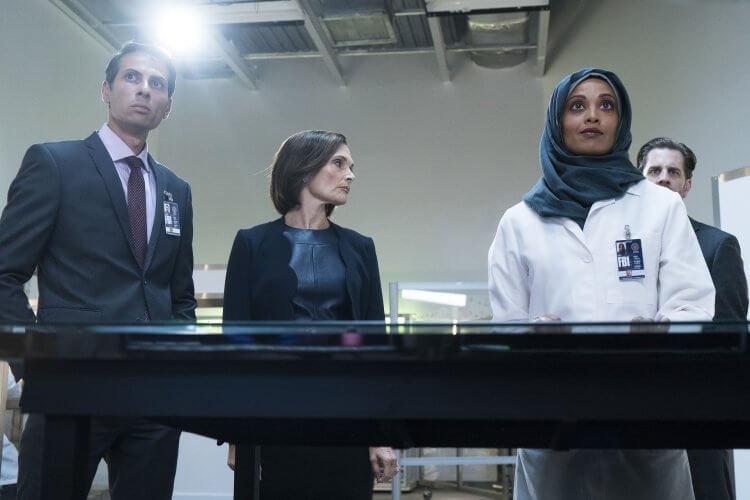犯罪懸疑美劇影集《盲點》(Blindspot) 第五季劇照。