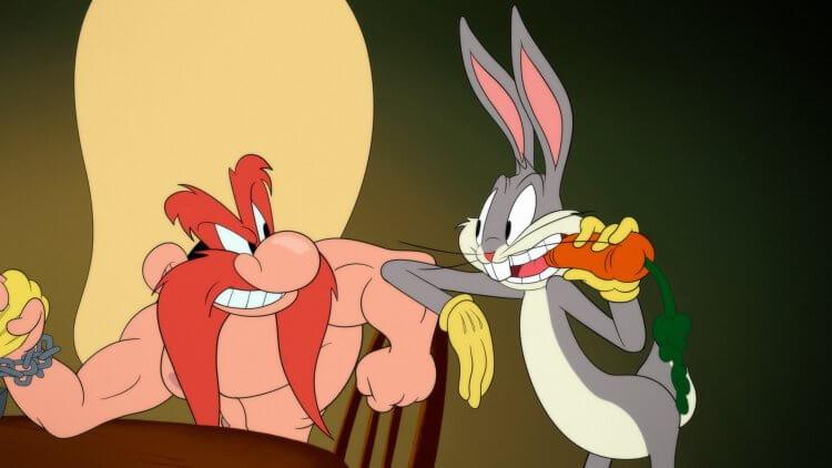 兔寶寶以及樂一通卡通角色們都在卡通頻道動畫《Looney Tunes Cartoons》。