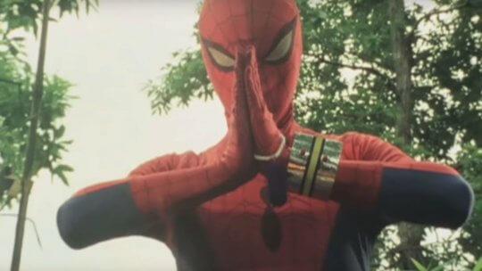東映蜘蛛人也曾在《蜘蛛宇宙》漫畫登場
