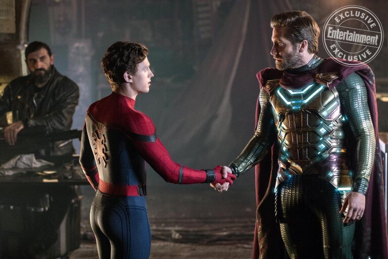 《蜘蛛人:離家日》(Spider-Man: Far from Home) 全新劇照。