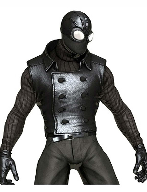蜘蛛人的「黑色電影 (Noir) 」套裝。