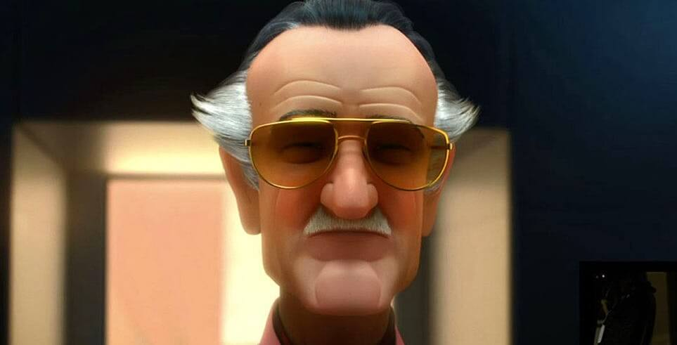 我們敬愛的老爺子:史丹李也在《蜘蛛人:新宇宙》中客串現身。