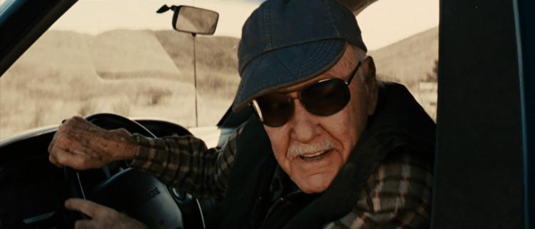 史丹李在電影《復仇者聯盟 4:終局之戰》裡的客串畫面。