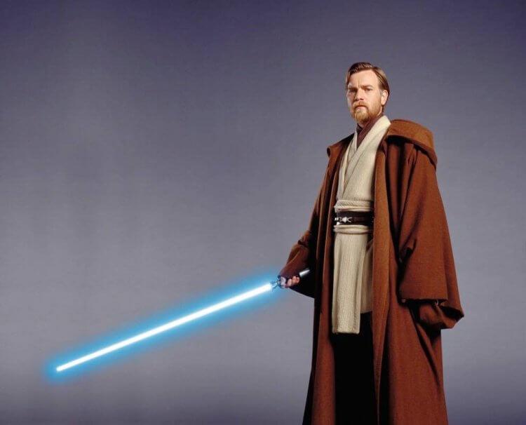 《星際大戰》系列中飾演歐比王的伊旺麥奎格。