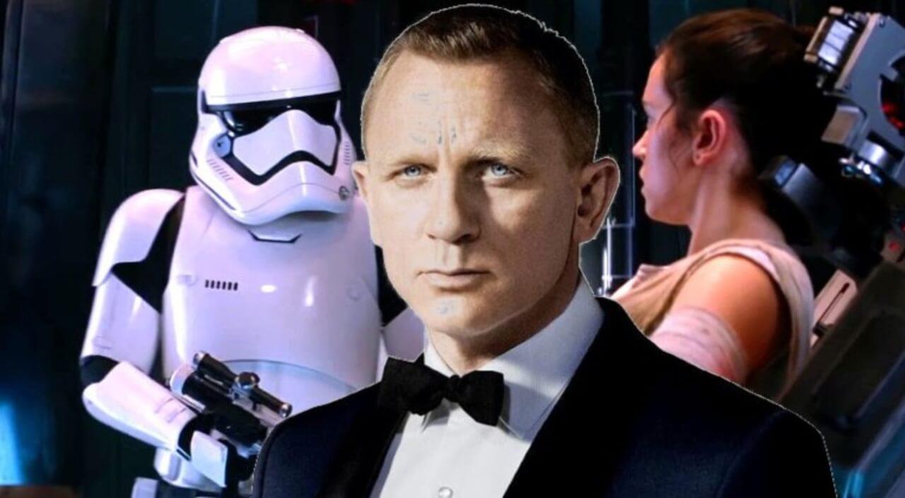 我們熟悉的那位 007 探員,丹尼爾克雷格也曾在《STAR WARS:原力覺醒》客串帝國風暴兵。