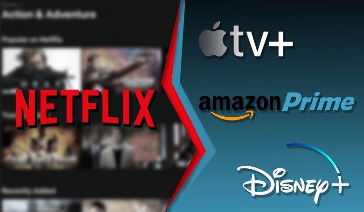 面對 apple tv 、 Disney+ 等其他串流平台的興起,分析師預估網飛 Netflix 將損失 400 萬用戶。