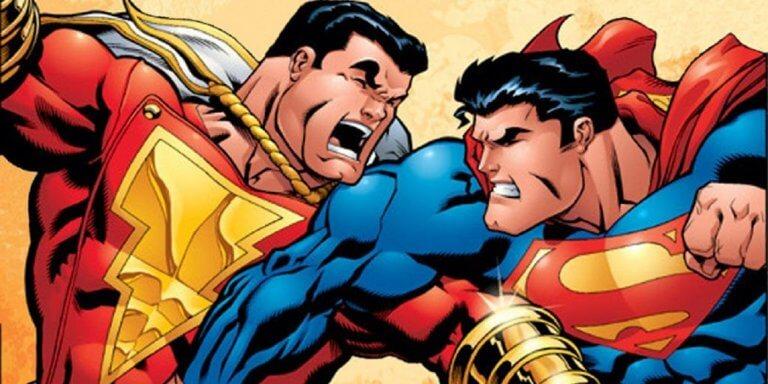 《沙贊!》(Shazam!) 和超人 (Superman) 皆為 DC 備受關注的超級英雄。