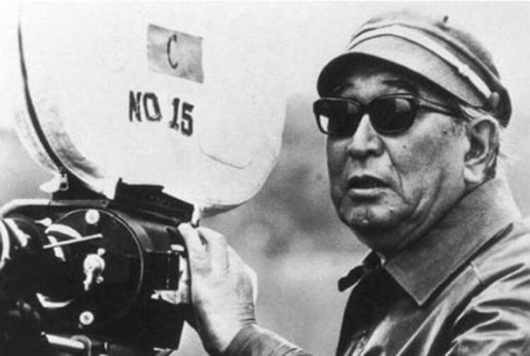 獲頒威尼斯影展終身成就金獅獎的亞洲導演黑澤明。