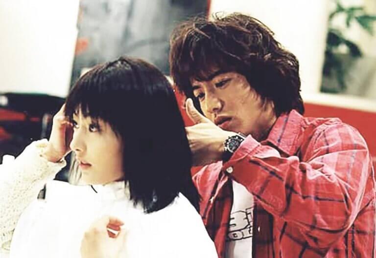 2000 年日劇《美麗人生》中,木村拓哉飾演美髮師柊二。