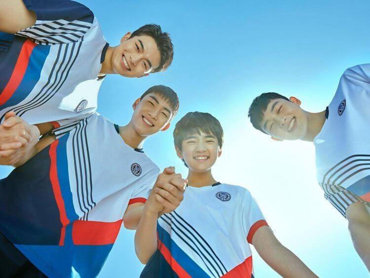 陳俊相演出的《羽球少年團》現正熱播中