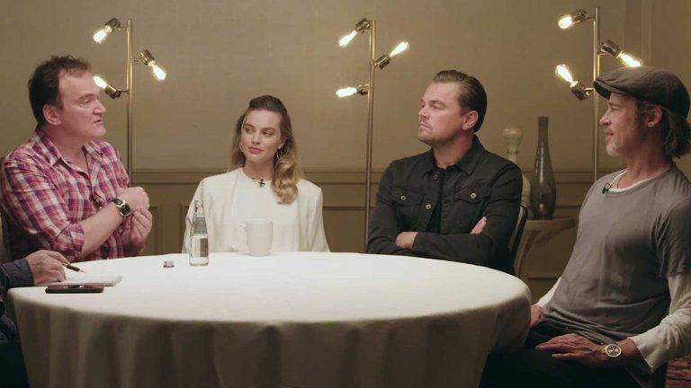李奧納多、布萊德彼特、瑪格羅比齊聚!聽聽他們與鬼才昆汀暢聊《從前,有個好萊塢》的合作過程