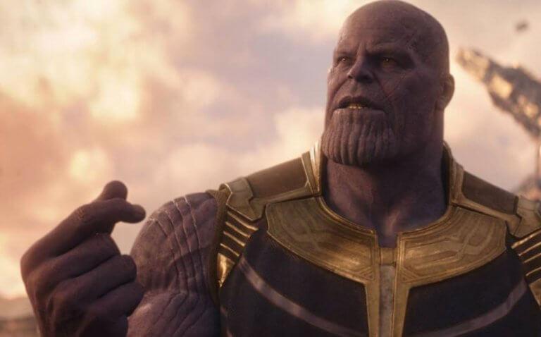 《復仇者聯盟4:終局之戰》大反派薩諾斯(Thanos)。